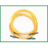 Buy cheap E2000 / APC Connecoter Single Mode Fiber Patch Cord / Simplex Patch Cord from wholesalers