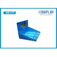 Buy cheap Eco - friendly Customized Cardboard Countertop Display Rack For Memory Card from wholesalers