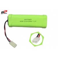 Buy cheap 7.2V 4000mAh 10C Nimh Battery Packs For RC Toys RC Hobbies from wholesalers
