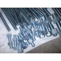 Buy cheap Cold Galvanized Stud Bolt With 2 Nuts, A193 B7/A194 GR 2H,Fully Thread Stud Bolts from wholesalers