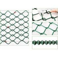 Buy cheap Galvanised Chain Link Fencing / Chain Link Security Fence For Animal Protecting from wholesalers