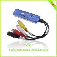 Buy cheap TY305: elegant blue 1ch usb2.0 video capture card from wholesalers