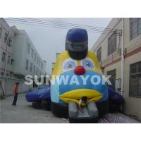 Buy cheap CE Big Fish Mouth Advertising Inflatable Bouncer With Durable plato TM from wholesalers