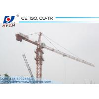 Buy cheap 50m Jib 6t Hammer Head Tower Crane Widely Used for High Rise Building Construction from wholesalers