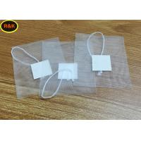 Buy cheap 100 Mesh Rosin Nylon Mesh Filter Tea Bags With Drawstring For Tea Filter from wholesalers