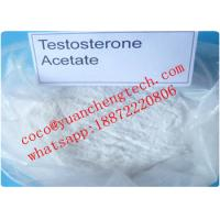 Buy cheap Testosterone Acetate Testosterone Steroids CAS NO 1045-69-8 White crystalline powder from wholesalers