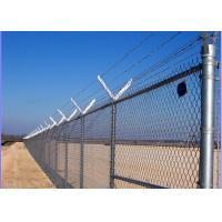 Buy cheap Environmental Galvanized Steel Wire Mesh , Chain Link Wire Fence Easy Maintain from wholesalers