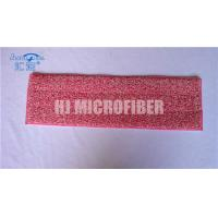 Buy cheap Red Dyed Yarn Twist Eco Friendly Microfiber Wet Mop Pads For Home Cleaning from wholesalers