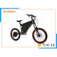 Buy cheap 19 Inch Powerful Electric Bike 3000w , Powerful Stealth Bomber Electric Bike from wholesalers
