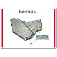 China Oil cooler cover HOWO Spare Parts number VG1540010014 with warranty on sale