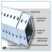 Buy cheap Steel Square Tubing for street sign post--Sharp Corners from wholesalers
