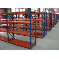 Buy cheap Industrial Steel Middle Duty Pallet Rack Storage Systems Multi Layers High Density from wholesalers