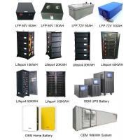 Buy cheap 10KWH Lifepo4 Battery Pack 48V- 96V-144V Deep Cycle For Solar Energy Storage from wholesalers