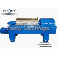 Buy cheap Waste Water Decanter Centrifuges For Steel Factory Sludge Dewatering product