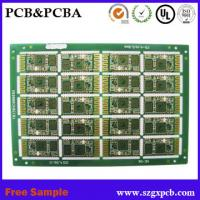 Buy cheap Shenzhen manufacturer High quality Multilayer PCB assembly/PCB manufacturer with SGS, UL certification free sample from wholesalers