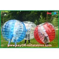 Buy cheap Large Inflatable Bubble Ball , 1.5m Sport Games Inflatable Bumper Ball from wholesalers