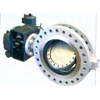 Buy cheap Bidirectional API609 Metal Seal Butterfly Valve Replaceable Seat B16.47 from wholesalers