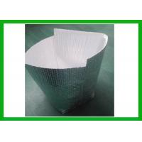 Buy cheap Soild Shipping Protective Insulated Foil Bags Silver Foil Coated Bubble Cover from wholesalers