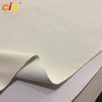 Buy cheap Colorful Synthetic Leather Fabric 0.8-1.2mm Thickness / Synthetic Pu Leather Car from wholesalers