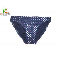 Buy cheap Colorful Custom Printed Clothing Small Spot Blue Bikini Bottom For Womens from wholesalers