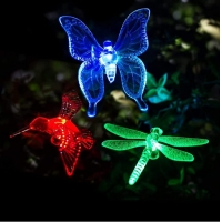 Buy cheap Stainless Steel 1.2V  IP44  Butterfly Solar Garden Lights from wholesalers