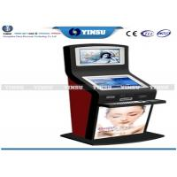 Buy cheap Shopping Mall Self Service Computer Kiosk Strong Functional And Security from wholesalers