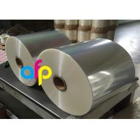 Buy cheap Wet Glossy Flexible Packaging Film 12 Micron Corona Treated 3000 - 9000m Length from wholesalers