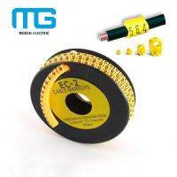 Buy cheap EC-1 Cable Marker Sleeves / Clip Cable Marker / PVC Cable Marker Cable Accessories from wholesalers