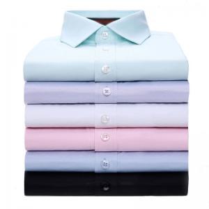 China OEM ODM Custom Business Shirts Custom Corporate Shirts Full Sleeve Length on sale