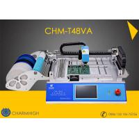 Buy cheap Advanced SMT Pick And Place Machine CHMT48VA + Top and Bottom Camera CCD system from wholesalers