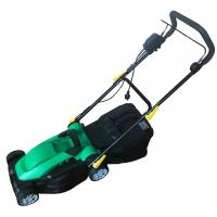 Buy cheap Green Color Electric Start Lawn Mower Mechinary Brack Belt Drive High Efficiency from wholesalers