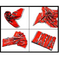 Buy cheap Large Twill Silk Printed Scarf (K232) product
