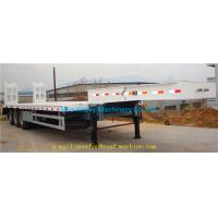 Buy cheap SHMC 3 AXLES EQUIPMENT LOW BED TRAILER King pin 3.5 inch Q235 MATERIAL With Radial Tires from wholesalers