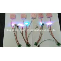 Buy cheap Beautiful Lights  2 Colorful LED And 1 Button Flashing sound chip for toys from wholesalers