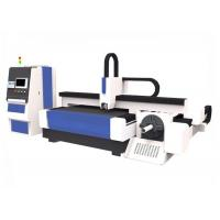 Buy cheap Stainless Steel Craftwork CNC Fiber Laser Cutting Machine 1500 * 3000mm Easy Operation from wholesalers