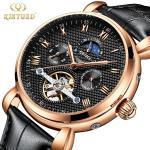 Buy cheap Chronograph  Analog Mechanical Wrist Watch 30 Meters Waterproof from wholesalers