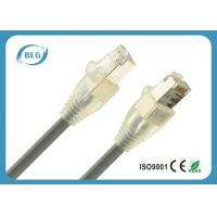 8 Number Conductor STP Patch Cable With AL Foil Shielded Solid Pure Copper