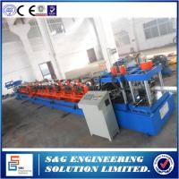 Quality C-shaped Purlin Roll Forming Machine, Factory Supply C Purlin Roll Forming Machine for Sale for sale