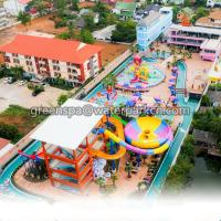 Buy cheap Interactive Amusement Water Park Slides 18m Length For Funny Theme Park from wholesalers