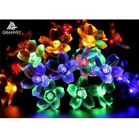 Buy cheap 7M Solar LED Christmas Lights Flower String 50 LED With Cherry Blossoms Garland from wholesalers