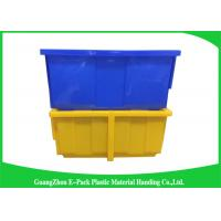 Buy cheap Light Stackable Industrial Storage Bins , Product Protection Stackable Storage Boxes from wholesalers