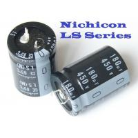 Buy cheap Nichicon LLS1E103MELA 10000UF 25V Lead Free ROHS Aluminum Electrolytic Capacitors from wholesalers