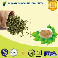 Buy cheap Natural green coffee bean extract Chlorogenic acid 50% from wholesalers