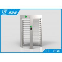 Buy cheap Smart Card Reader Pedestrian Gate Access Control , Scenic Areas Full Body Turnstile from wholesalers