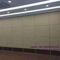 Buy cheap Restaurant Glass acoustic DIY Dubai Movable Partition Wall Walls Cost on Wheels Malaysia for Dance Studio Art Gallery Tr from wholesalers