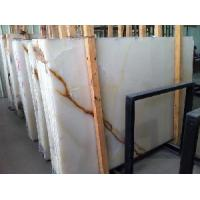 Buy cheap White Onyx Marble Slab/ Wall Tile/ Floor Tile/ from wholesalers