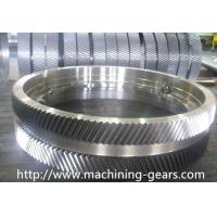 Buy cheap Iron Large Pitch Diameter Gear Wheels For Cement / Mining Facilities from wholesalers