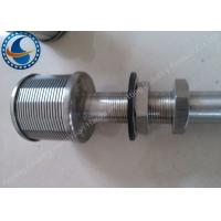 Buy cheap High Temperature Resistance Sand Filter Nozzles With Vertical Slots Custom Design from wholesalers
