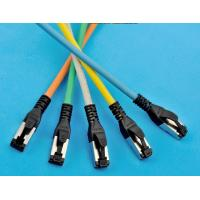 Buy cheap cat6A  7*0.16 26 AWG SSTP LSZH 1m patch Lead 100% component tese by fluke from wholesalers