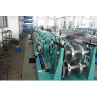 Buy cheap Post Cutting Interchangeable CZ Purlin Roll Forming Machine 7.5KW 5 Ton Decoiler from wholesalers